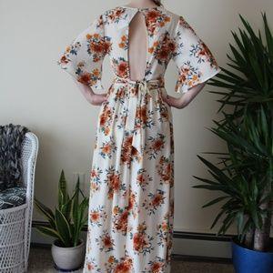 e0f760db743 Rue21 Dresses - NWT Rue21 Floral Kimono Maxi Romper - Size Medium